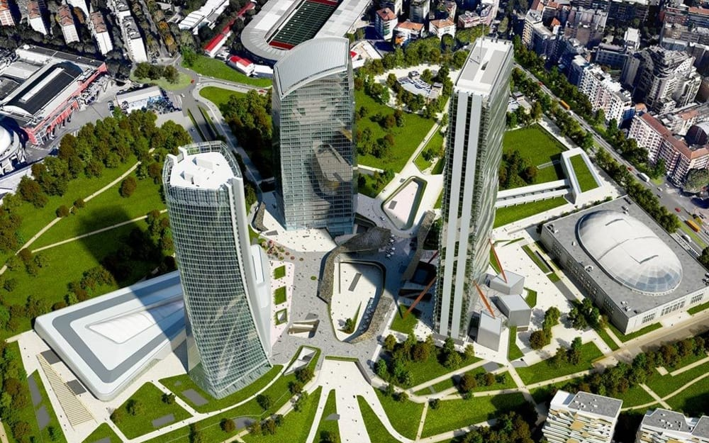 Citylife: A Biophilic District In The Heart Of Milan