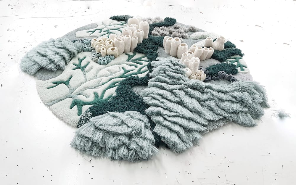 Textile art ideas for a biophilic design