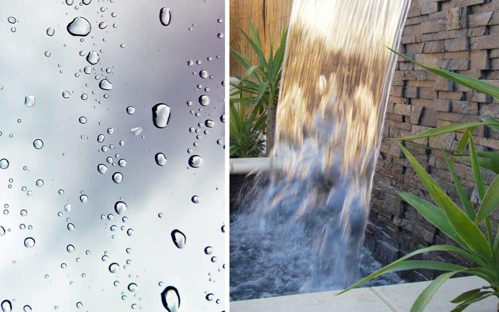 Biophilic Moodboards: water