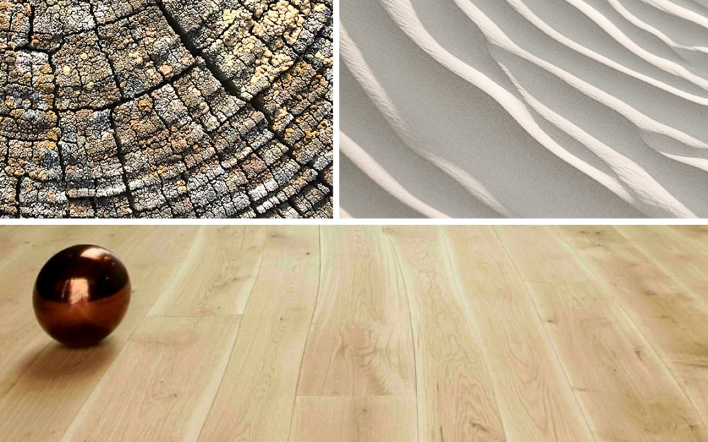 Biophilic Moodboards: Natural textures