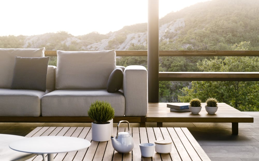 Outdoor design is now a trend and biophilia explains why
