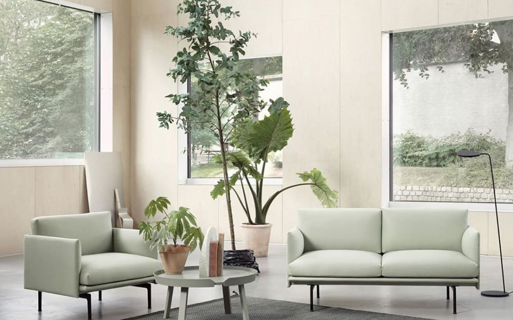 Biophilic inspiration with Tranquil Dawn, the new 2020 colour