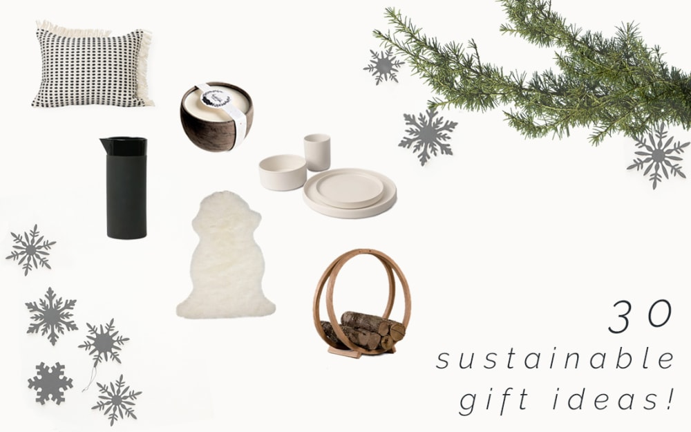 Sustainable Christmas gift guide: 30 homeware ideas