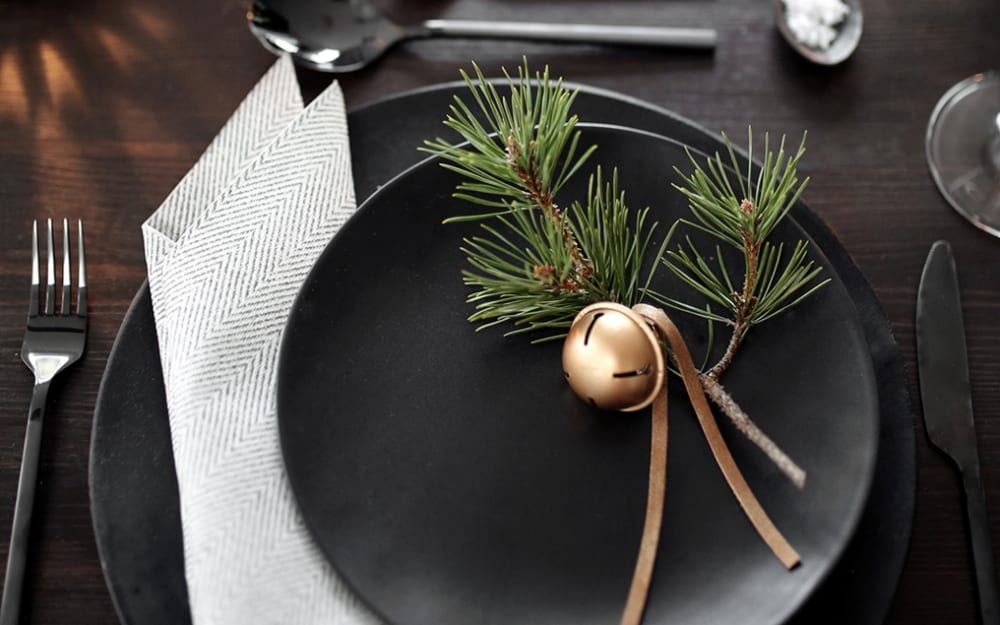 Sustainable Christmas: eco-friendly table decorations