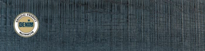 Denim-inspired wood floor, by Mazzonetto.