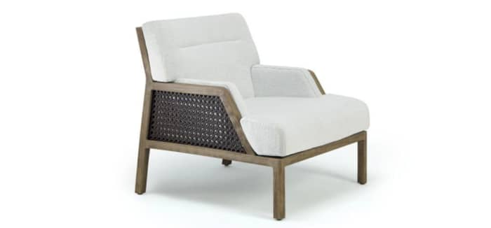 Grand Life chair, example of modern Vienna straw design by Christophe Pillet for Ethimo.