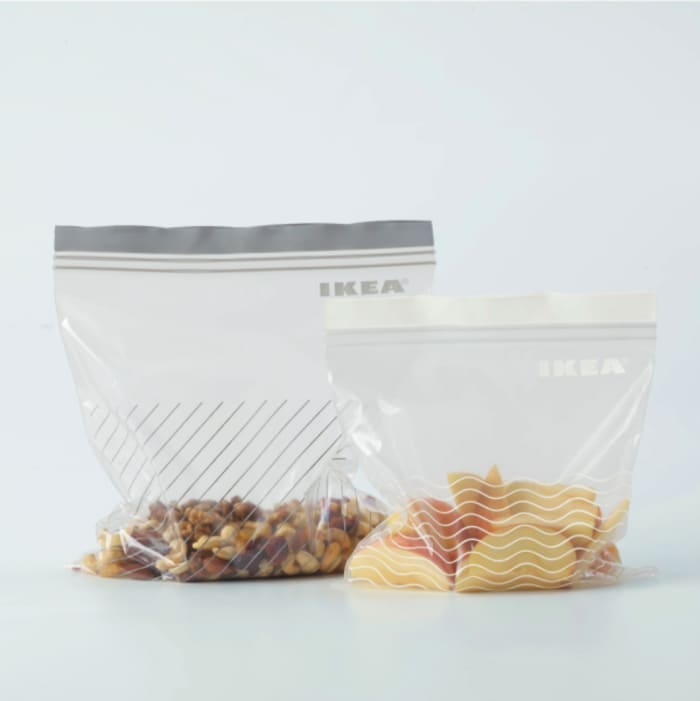 Ikea refrigerator bag ISTAD, made out of renewable materials to help sustainable living.