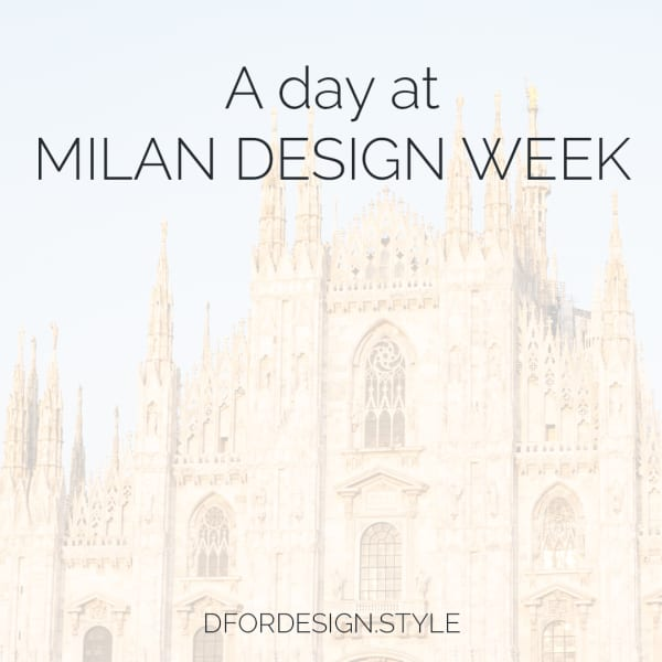 A day at Milan Design Week. Pin It.