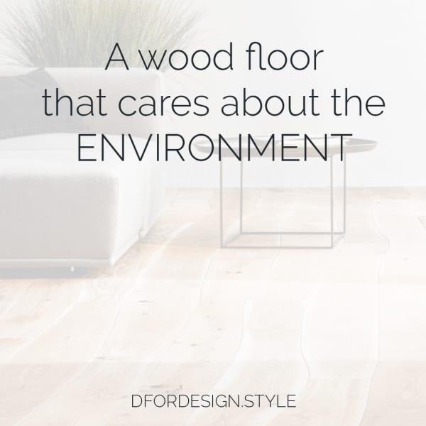 Sustainable wooden flooring. Pin It.