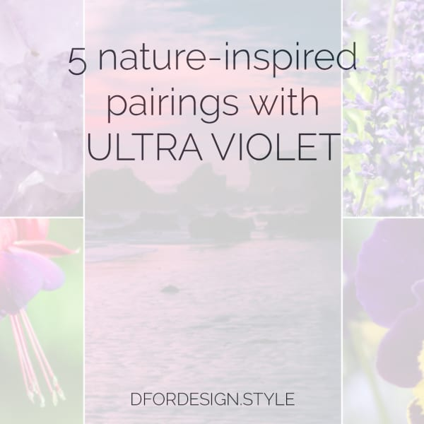 Ultra Violet in interior design. Pin It.