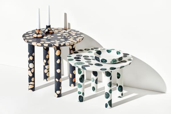 Terrazzo furniture.