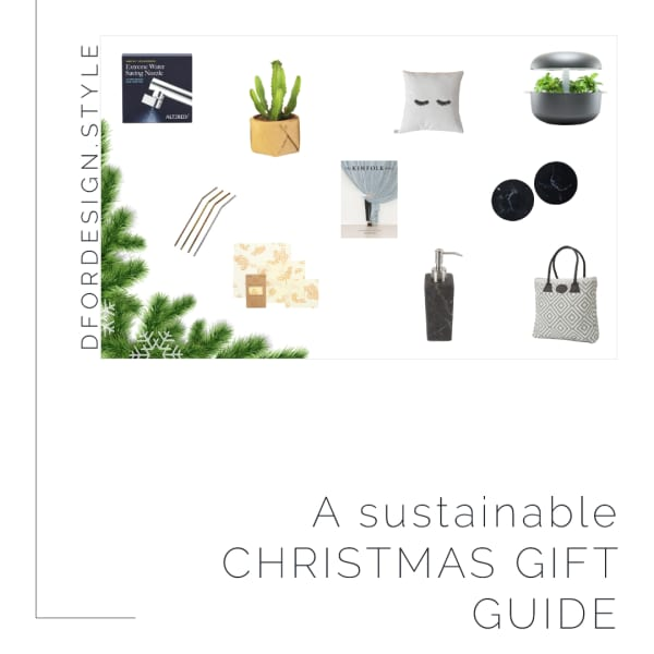 A sustainable Christmas gift guide. Pin it.