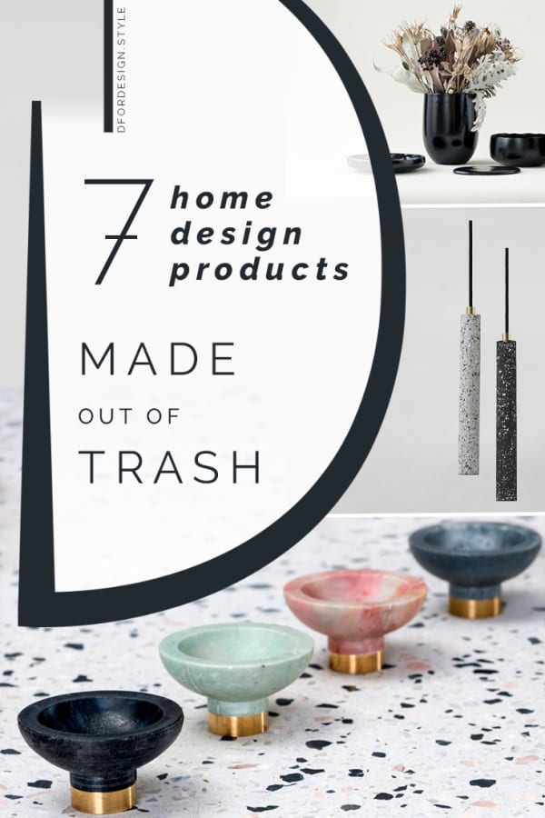 Sustainable design: 7 projects giving trash a new life. Pin it.