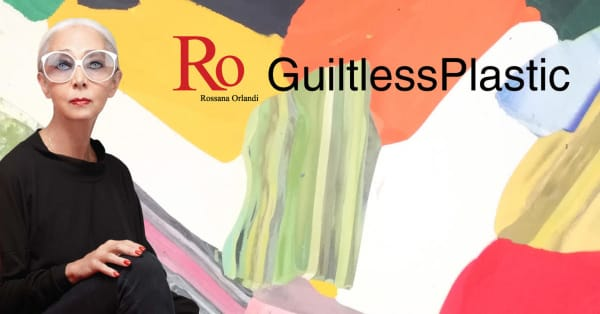 Presentation banner of the Guiltless Plastic initiative.