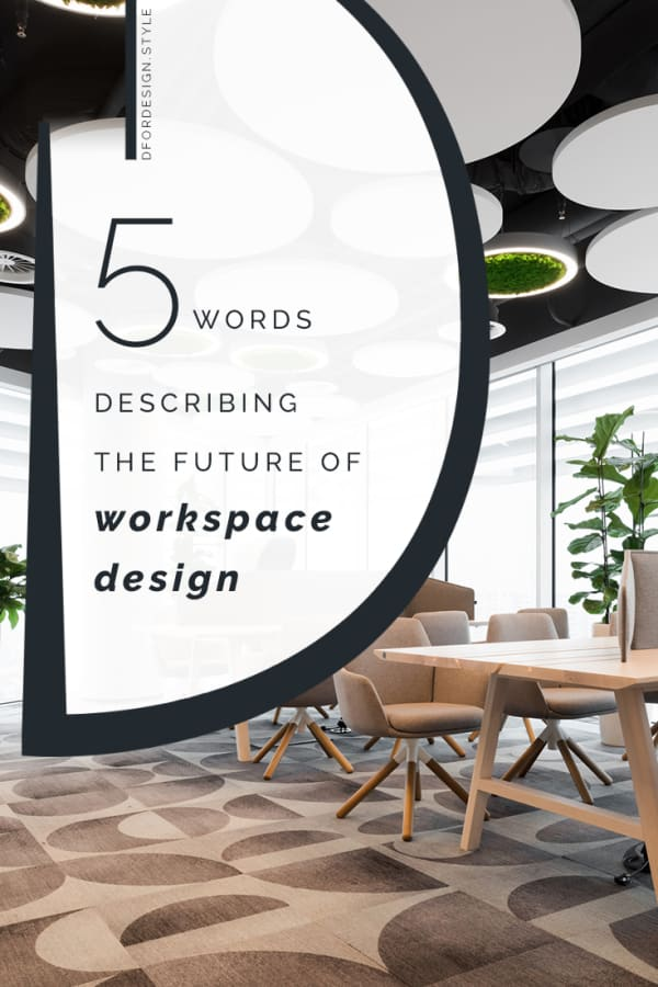 The future of workspace design in 5 words. Pin it.