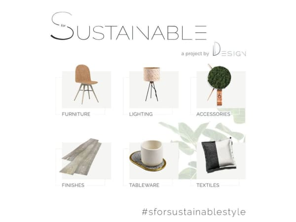 Screenshot of SforSustainable's homepage.