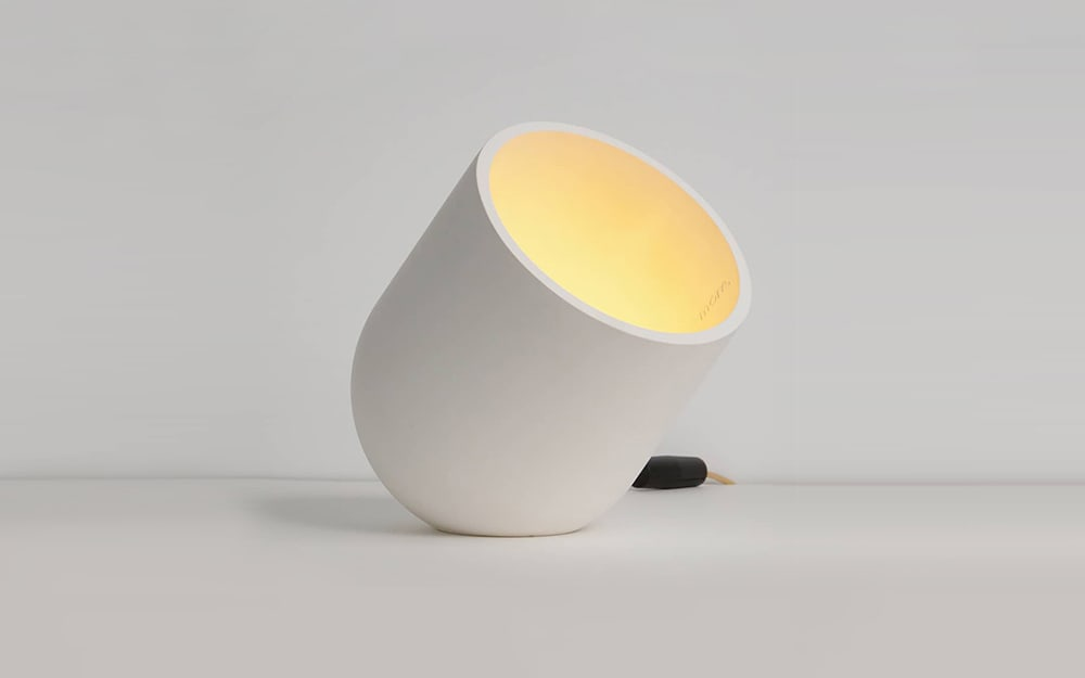 "Minimal white table lamp.<span class=""sr-only""> (opened in a new window/tab)</span>"