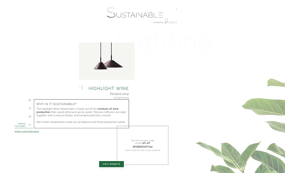 """Screenshot of SforSustainable page<span class=""""sr-only""""> (opened in a new window/tab)</span>"""