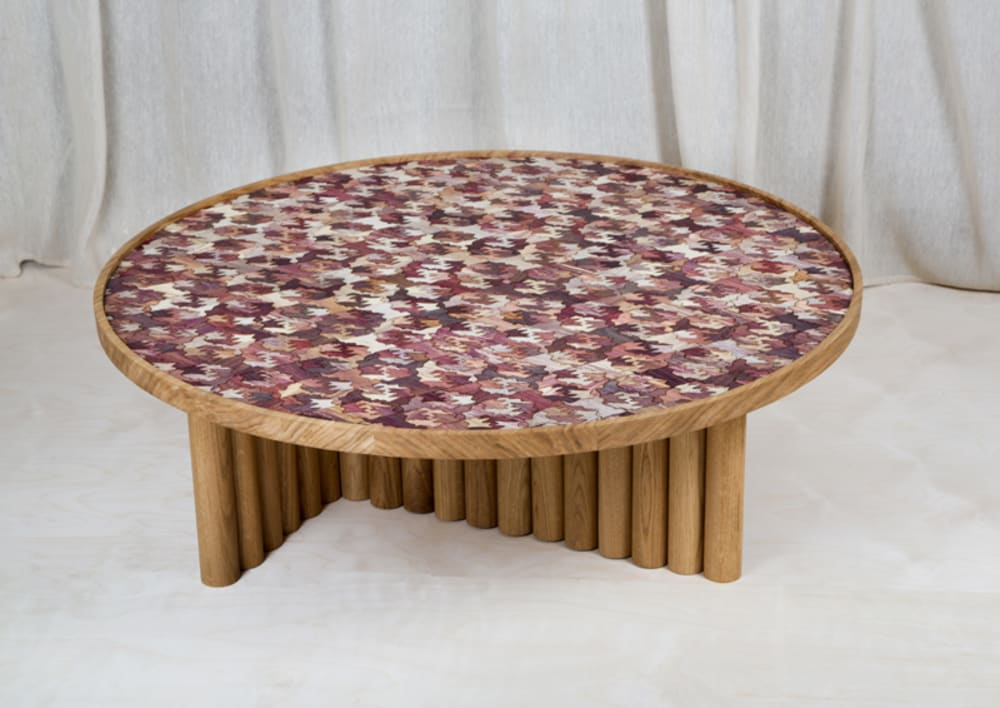"Coffee table with Totomoxtle top.<span class=""sr-only""> (opened in a new window/tab)</span>"
