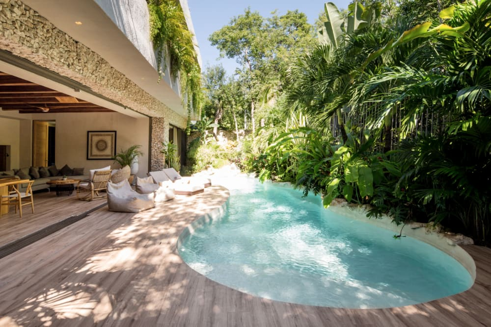 """The pool area of Villa Verde.<span class=""""sr-only""""> (opened in a new window/tab)</span>"""