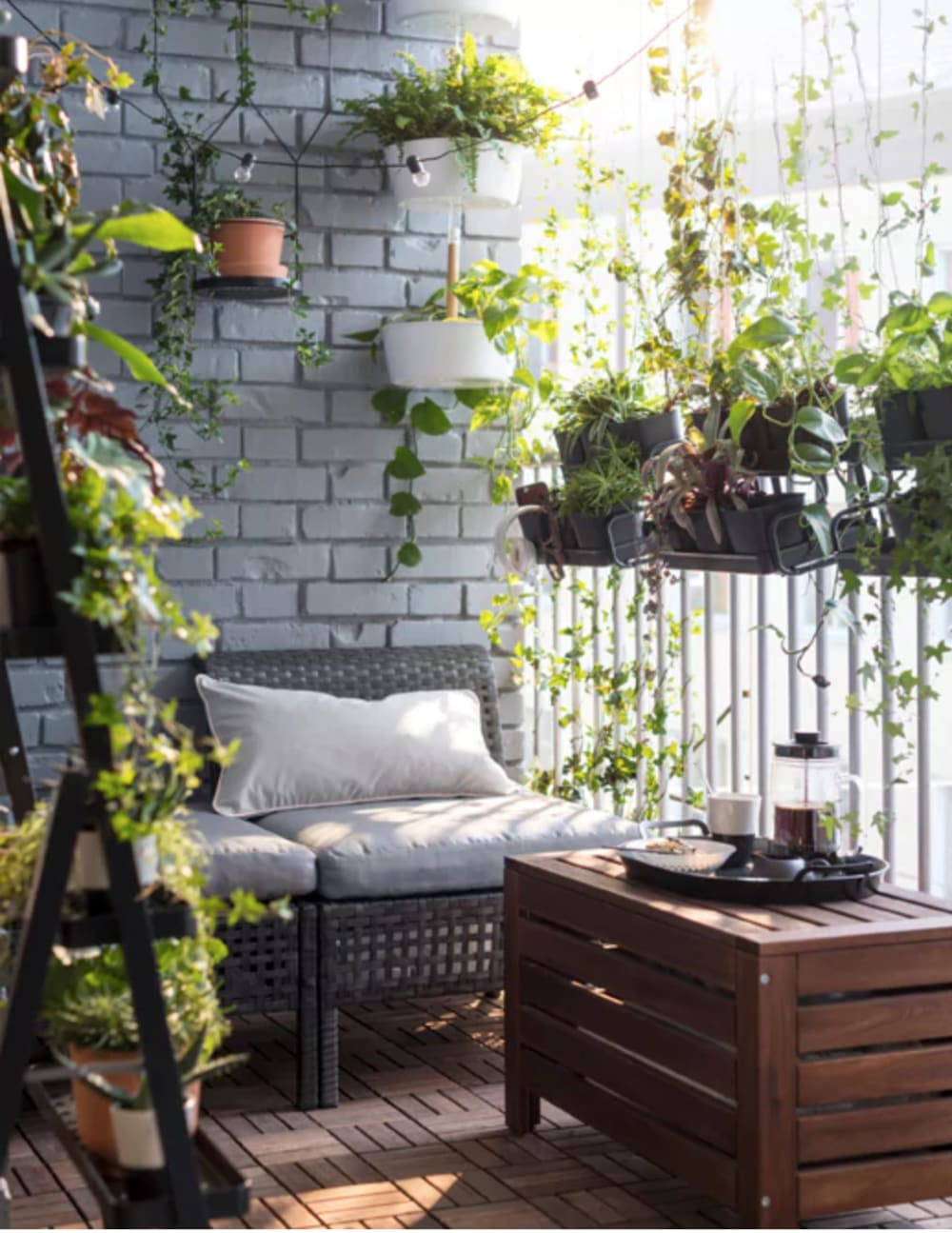 """Balcony with greenery all around.<span class=""""sr-only""""> (opened in a new window/tab)</span>"""