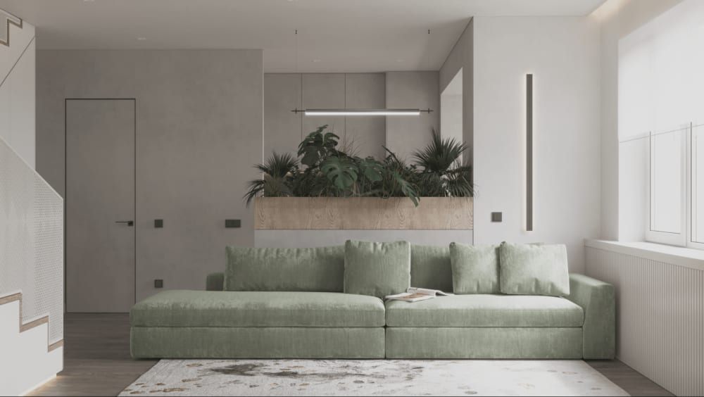 """Simple planter used to partition the space in a small apartment.<span class=""""sr-only""""> (opened in a new window/tab)</span>"""