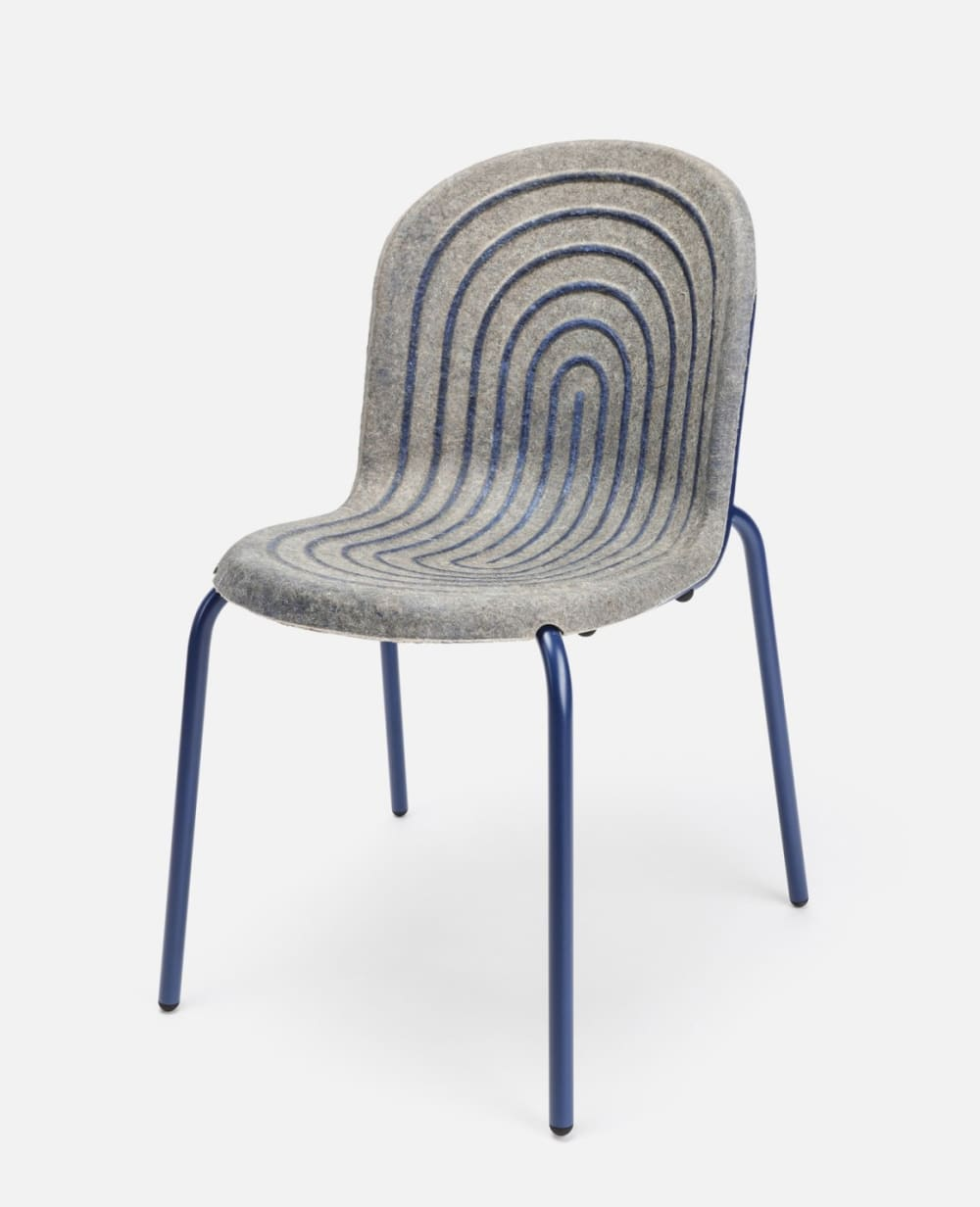"Chair with seating made with hemp panel bonded together with a casein-based glue.<span class=""sr-only""> (opened in a new window/tab)</span>"
