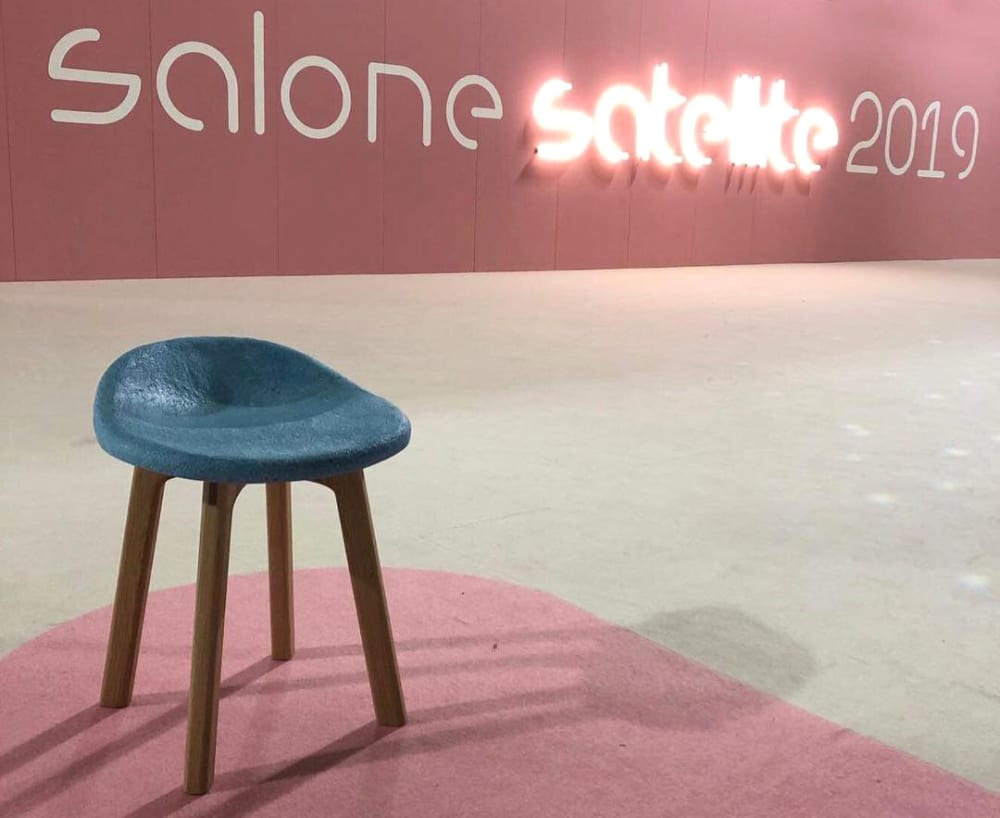 "View of the SaloneSatellite entrance.<span class=""sr-only""> (opened in a new window/tab)</span>"