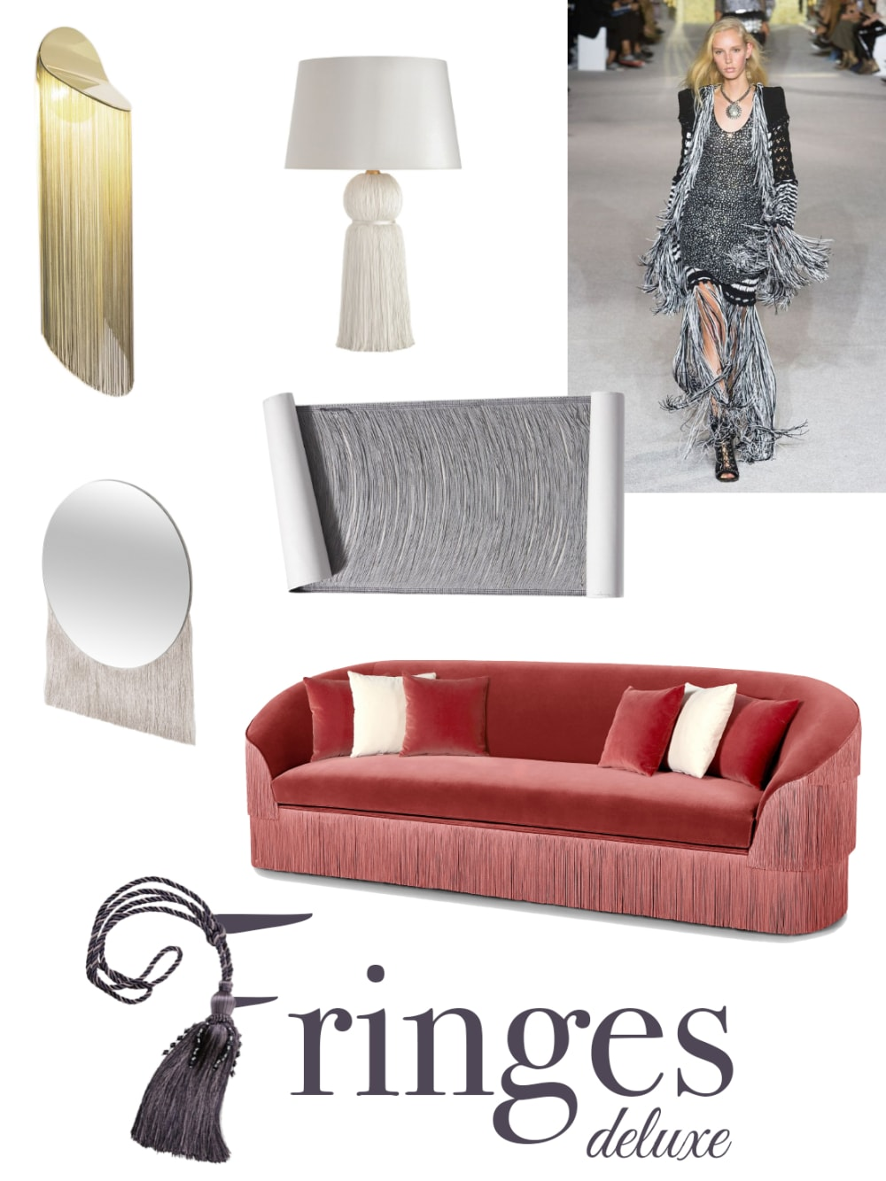"Fringes deluxe mood board: a selection of furniture and accessories.<span class=""sr-only""> (opened in a new window/tab)</span>"