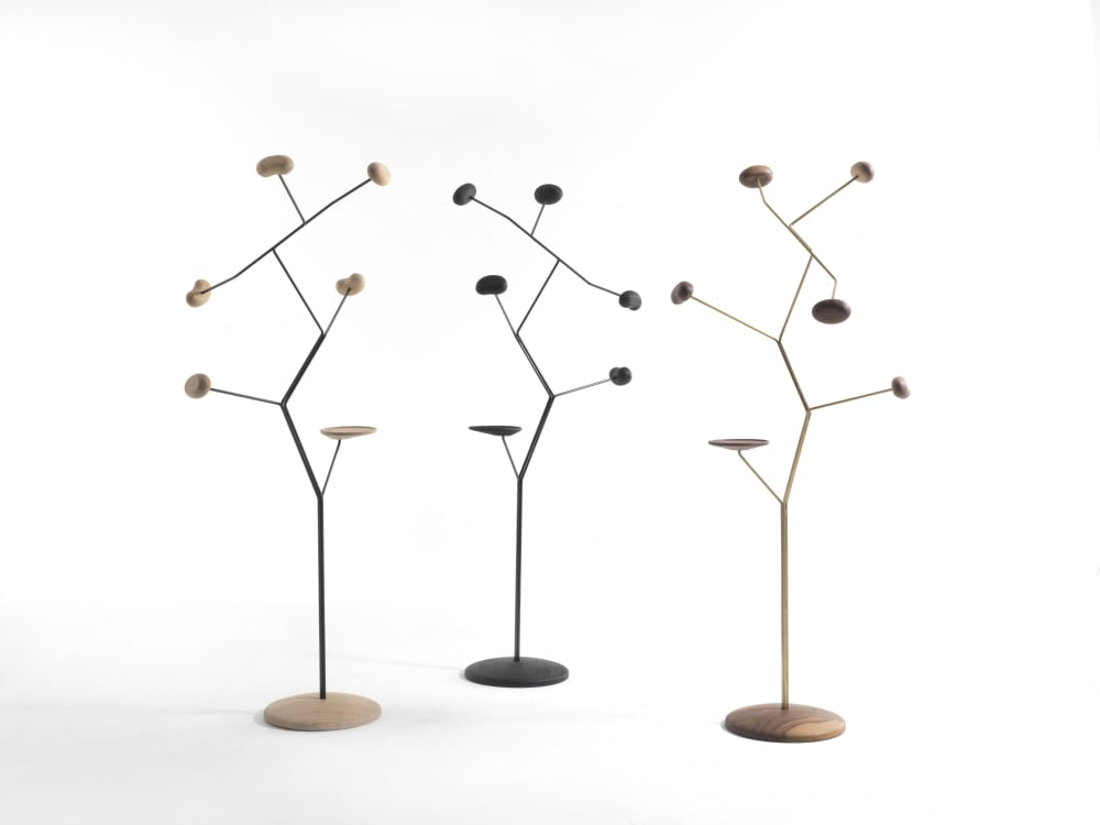 """Sculptural coat rack.<span class=""""sr-only""""> (opened in a new window/tab)</span>"""