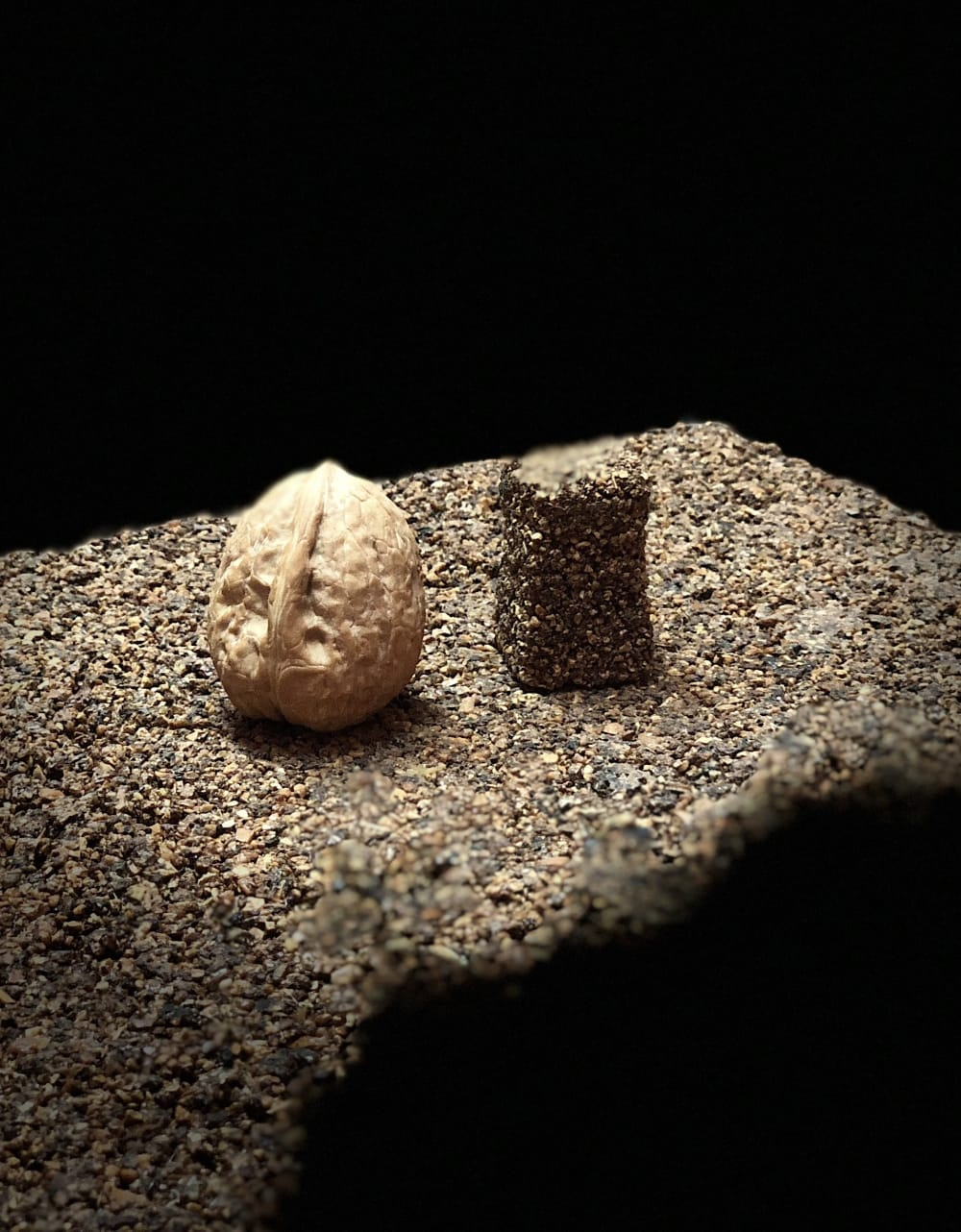 """A piece of Keep Life with a nut on top.<span class=""""sr-only""""> (opened in a new window/tab)</span>"""