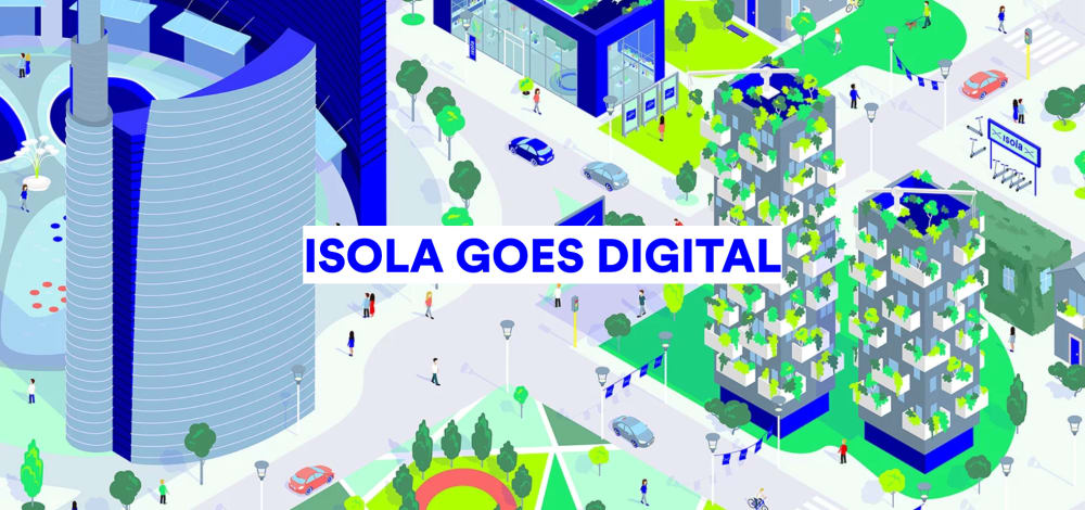 """Graphic of Isola Goes Digital.<span class=""""sr-only""""> (opened in a new window/tab)</span>"""