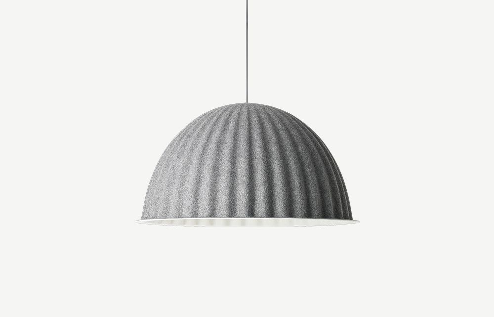 """Lampshade made out of plastic bottles.<span class=""""sr-only""""> (opened in a new window/tab)</span>"""