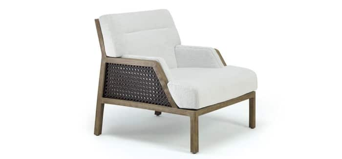 "Grand Life chair, example of modern Vienna straw design by Christophe Pillet for Ethimo.<span class=""sr-only""> (opened in a new window/tab)</span>"