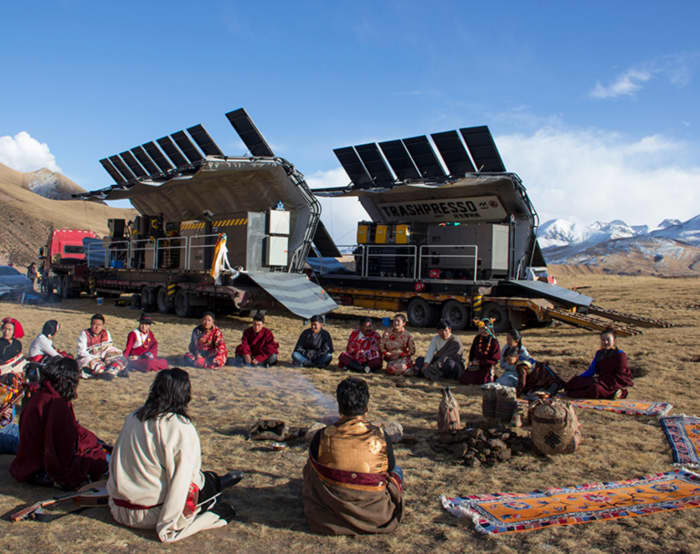 "Trashpresso on the Tibetan Plateau<span class=""sr-only""> (opened in a new window/tab)</span>"