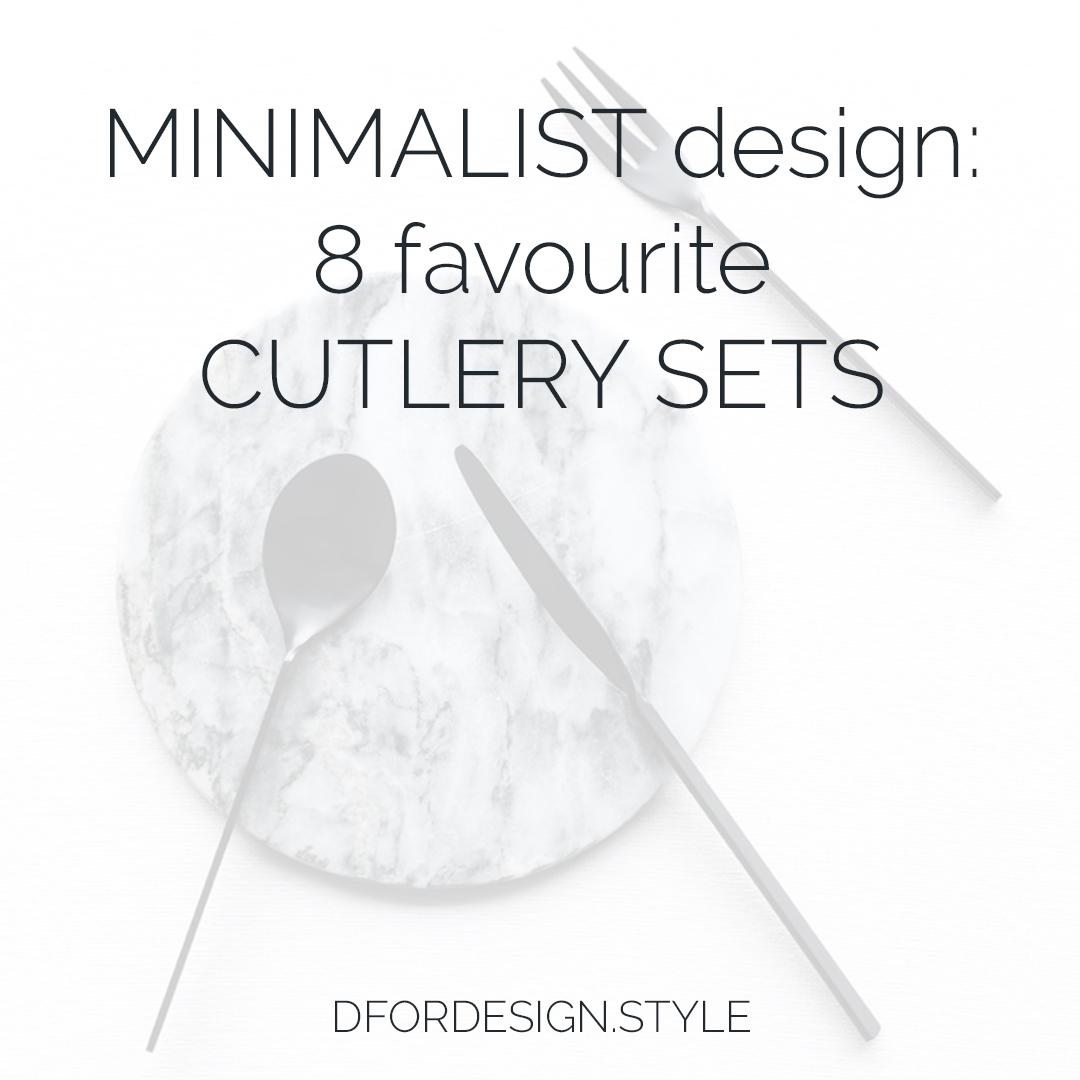 Minimalist cutlery. Pin It.
