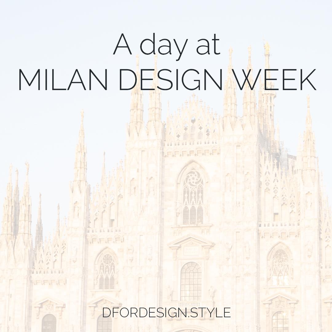 A day at Milan Design Week. Pin It.