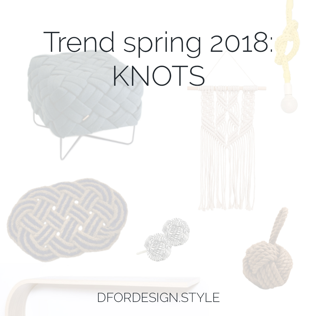 Knots interior design trend. Pin It.