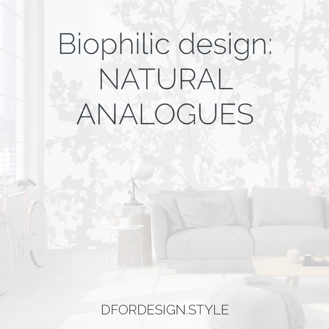 Biophilic design, nature analogues. Pin It.