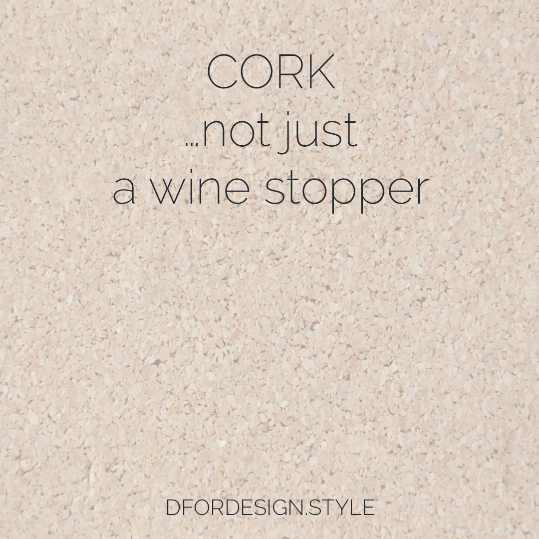 Cork…not just a wine stopper. Pin It.