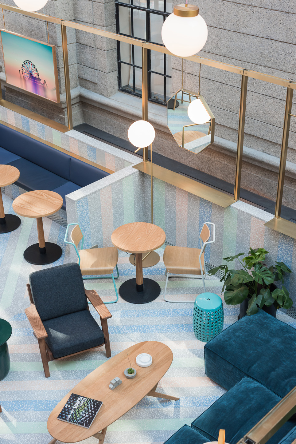 Terrazzo co-working space WeWork.