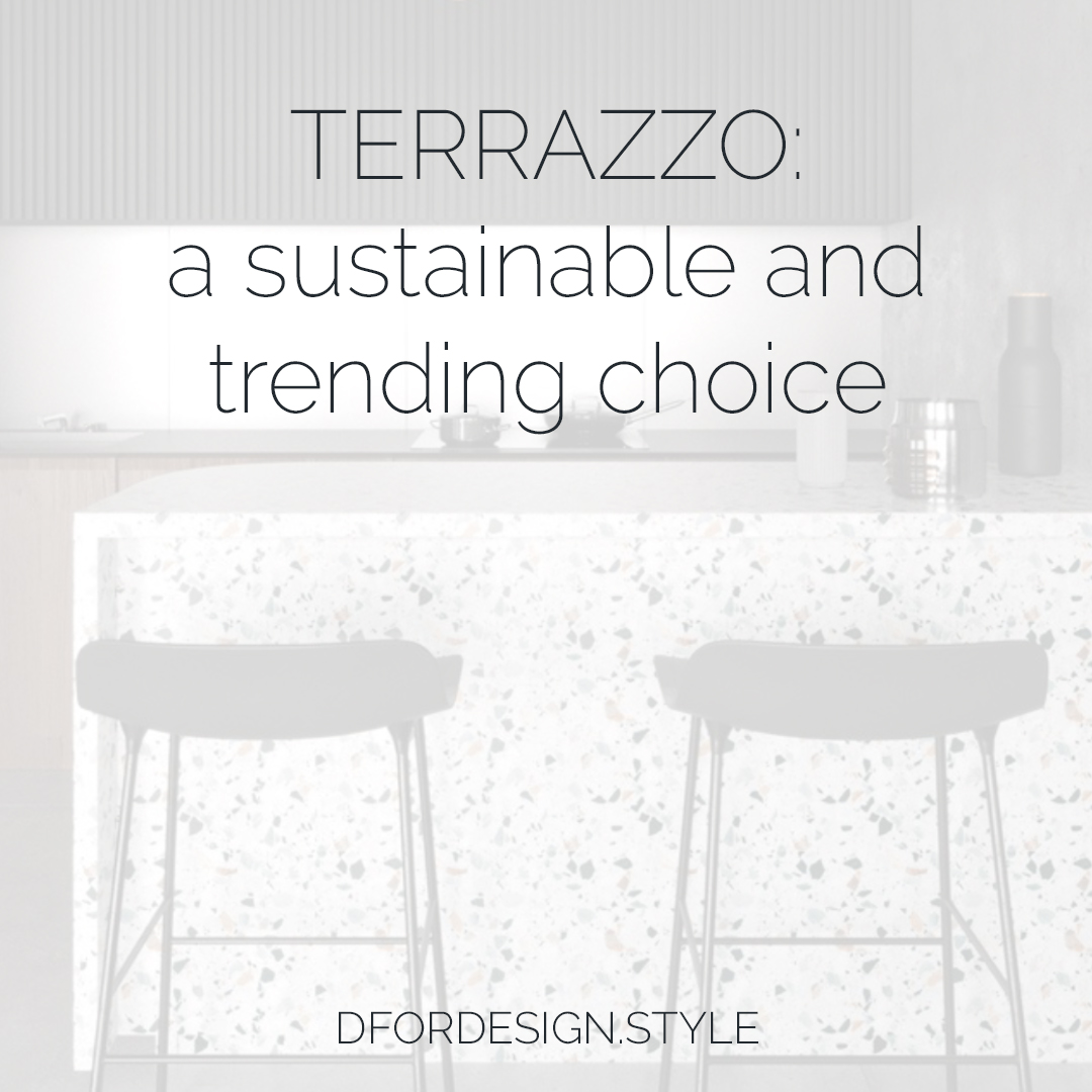 Terrazzo: a sustainable and trending choice. Pin it.