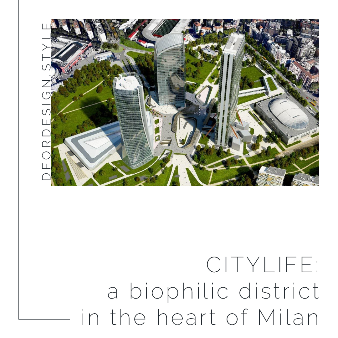 CityLife: a biophilic district in the heart of Milan. Pin it.