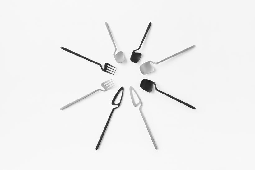 Sculptural cutlery.