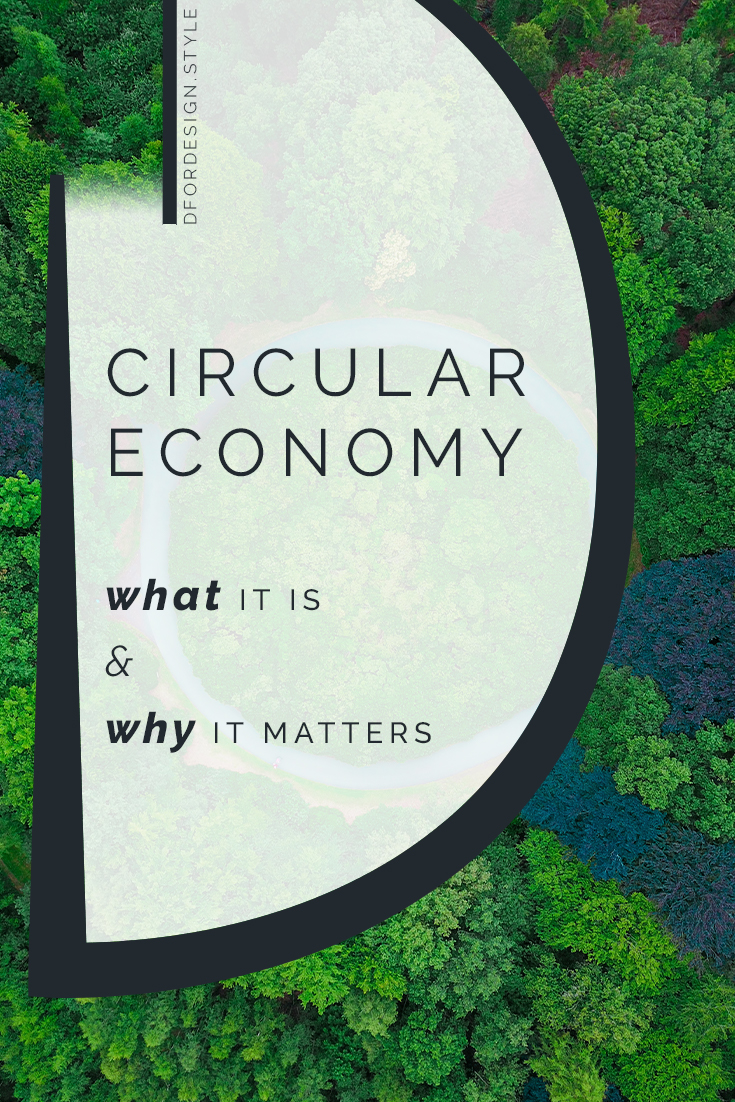 Circular economy: the ultimate form of sustainability. Pin it.