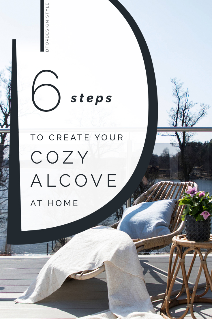 The 6 essentials of a cozy corner for well-being. Pin it.