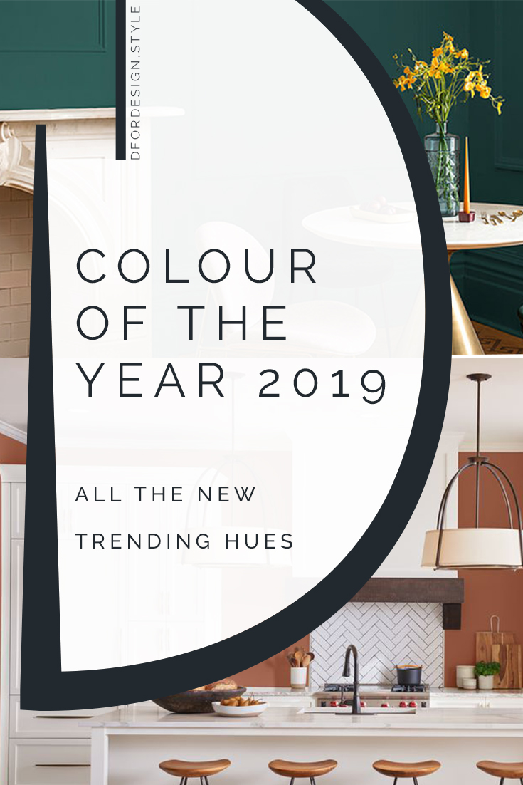 Colour of the Year 2019: all the new trending hues! Pin it.