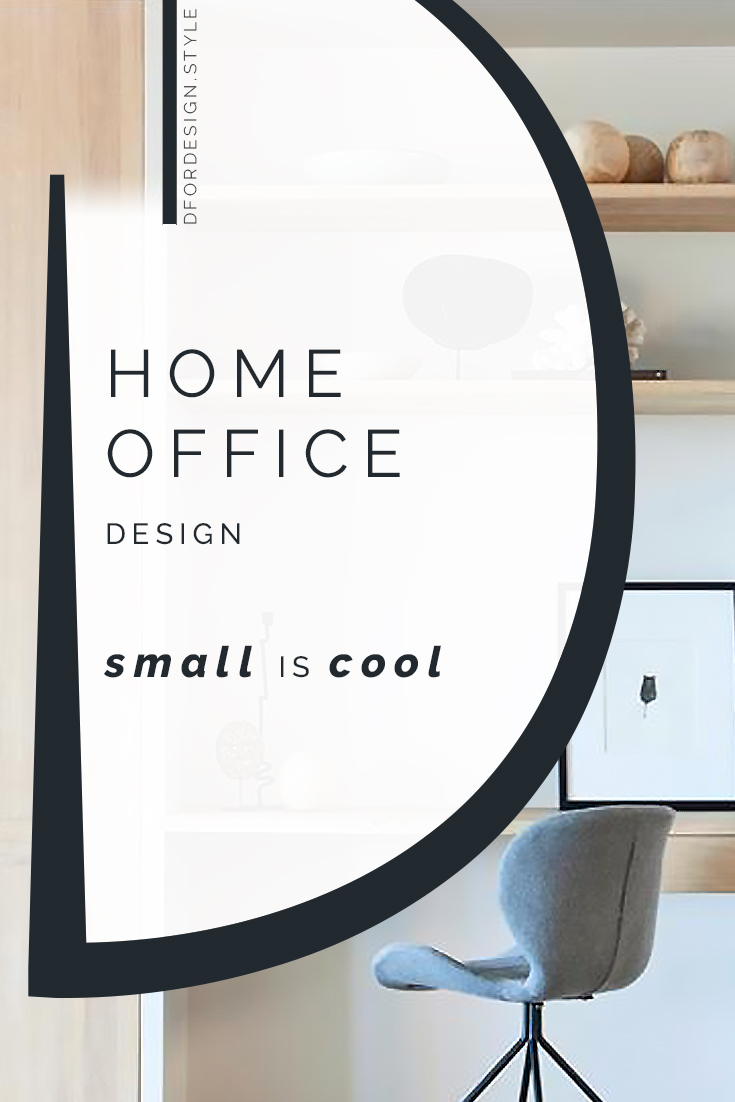 Home Office design: small is cool. Pin It.
