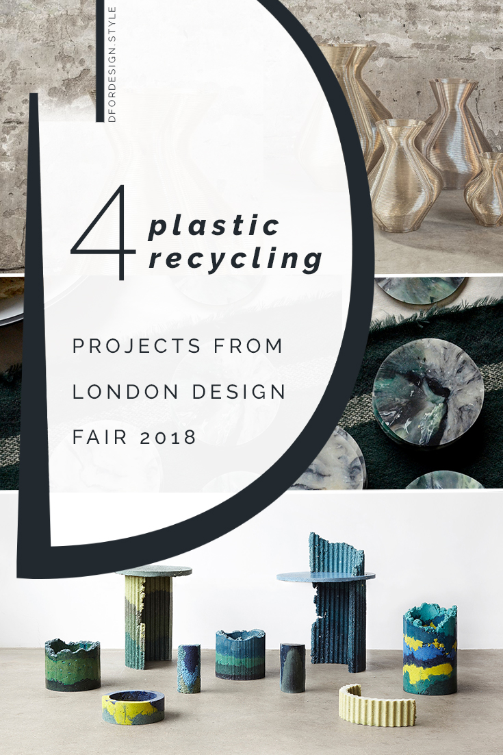 London Design Fair 2018: plastic under the spotlight. Pin It.
