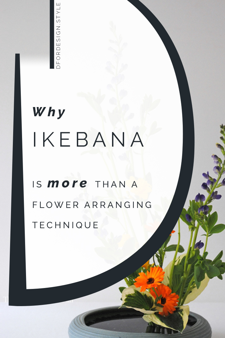 Ikebana: the flower arrangement art coming from Japan. Pin It.